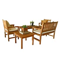 Amazonia Milano 5-Piece Seating Set by International Home Miami Corp