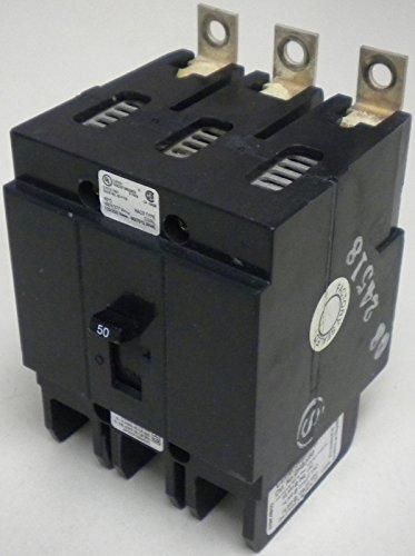 Ghb3050 Eaton / Cutler Hammer / Westinghouse 480 Vac 50 Amp 3 Pole Circuit Breaker