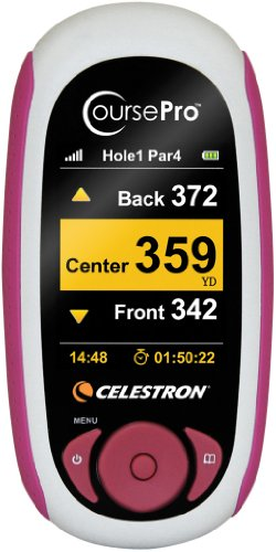 Celestron Course Pro GPS Personal Golf Caddy - Mauve