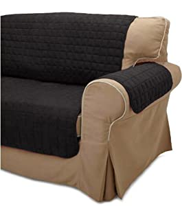 quilted micro suede pet furniture protector