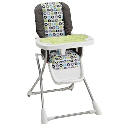 Enjoyable Evenflo Compact Fold High Chair Covington Review Baby Creativecarmelina Interior Chair Design Creativecarmelinacom