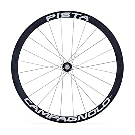 Campagnolo Pista Tubular Track Bicycle Rear Wheel - Black - 24H - WH02-PTR