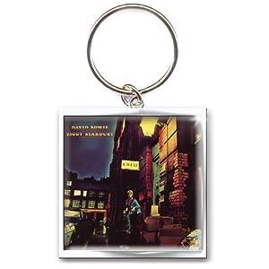 David Bowie - Ziggy Stardust Keyring