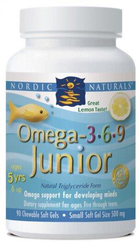Nordic naturel Omega-3.6.9 junior 90 ct