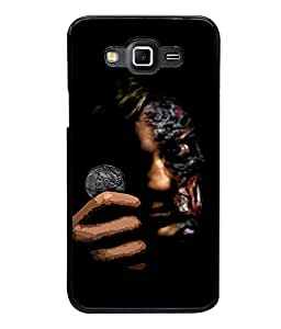 printtech Two Face Gotham Back Case Cover for Samsung Galaxy Grand 3 G720::Samsung Galaxy Grand Max G720