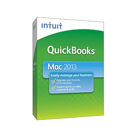 QuickBooks for Mac 2013