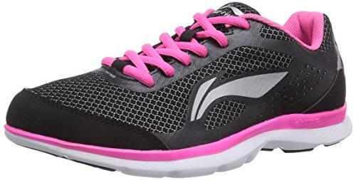 li-ning-lite-speed-chaussures-de-course-femme-noir-schwarz-black-pink-375-eu