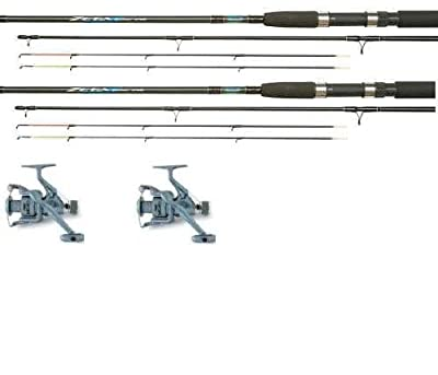 Shakespeare Quiver/feeder Rod & Reel + Line Combo X 2