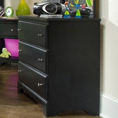 Black Bureau Dresser front-593332