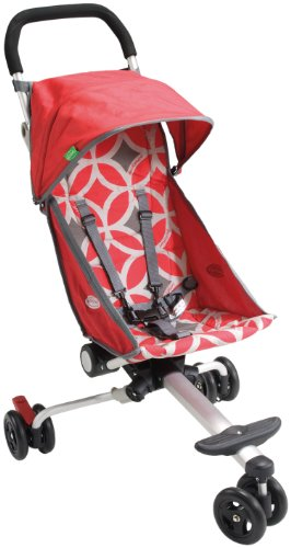 Quicksmart Back Pack Stroller (Red/Grey)
