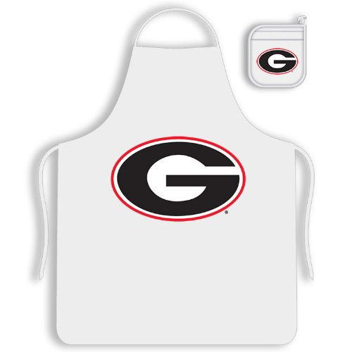 NCAA Georgia Bulldogs Tail Gate Kit Apron & Mitt