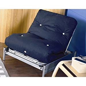 solo 1 place convertible lit futon fauteuil matelas non inclus cuisine maison. Black Bedroom Furniture Sets. Home Design Ideas