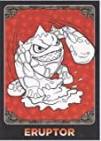 Skylanders Giants No. C2 ERUPTOR - Colour-Me-In Card Individual Trading Card