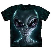 The Mountain Grey Alien T-Shirt