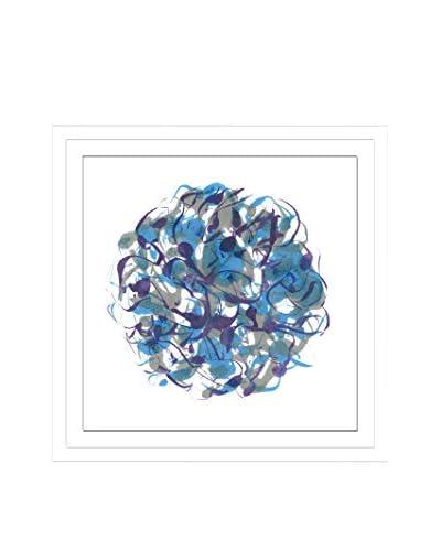 Shirley Williams Core Indigo VII Artwork on Framed Paper
