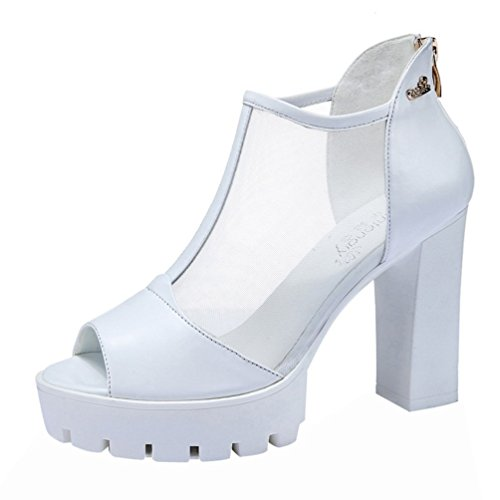 fq-real-women-fashion-peep-toe-cow-leather-mesh-platform-high-heel-sandals-shoes55-uk-white