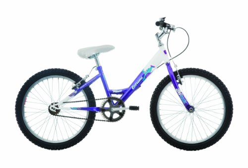 EXTREME by Raleigh Wave Girls Girls Mountain Bike - Hot Purple, 20-inch Wheel, 11 Inch Frame