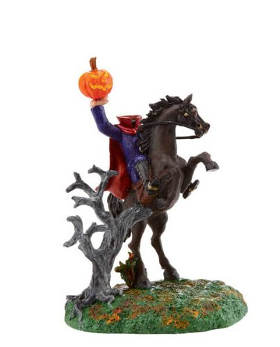 HEADLESS HORSEMAN Dept 56 Halloween Village Figurine