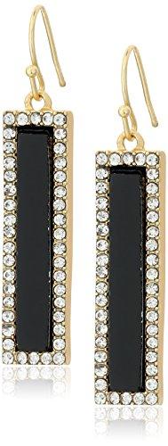 t-tahari-gold-and-black-onyx-linear-drop-earrings