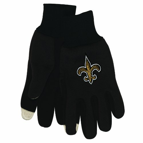 NFL New Orleans Saints Technology Touch Gloves at Amazon.com