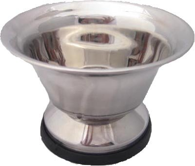 Large Stainless Steel Shaving Soap Bowl From Super Safety Razors Picture