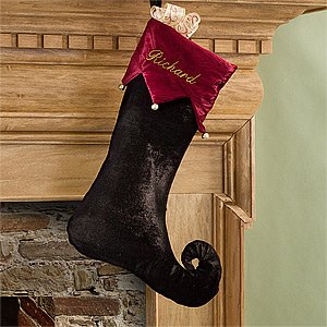 Beautiful Velvet Christmas Stockings It S Christmas Time
