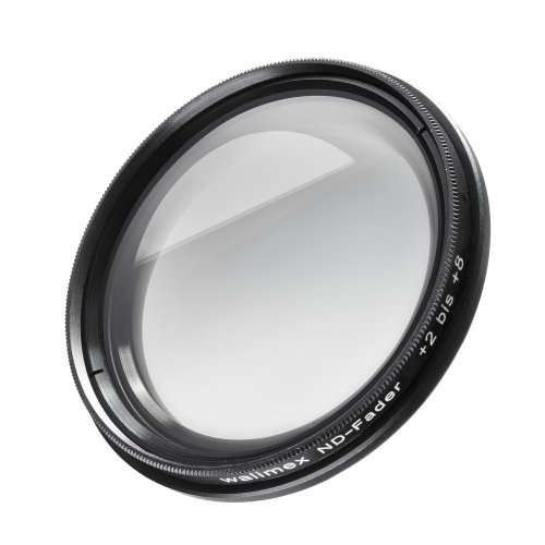 Filtre walimex ND-Fader 58 mm + 2 à 8 pare-soleil