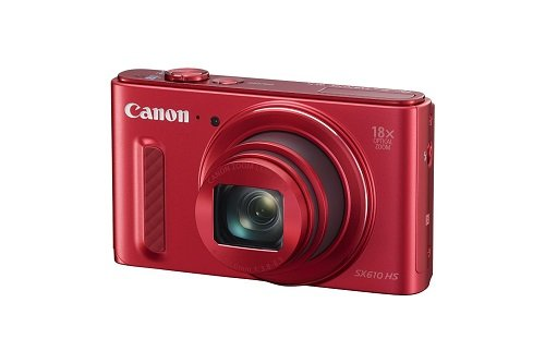 Canon-SX610-HS-202MP-Point-and-Shoot-Digital-Camera-Red-with-18x-Optical-Zoom-8GB-Memory-Card-and-Camera-Case