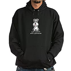 CafePress Better with a Schnauzer Hoodie dark by CafePress