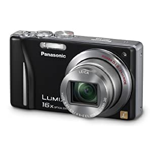 Panasonic Lumix DMC-ZS8 14.1 MP Digital Camera with 16x Wide Angle Zoom and 3.0-Inch LCD (Black)