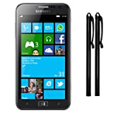 Samsung Ativ S Capacitive Touchscreen Stylus Twin Pack - Black