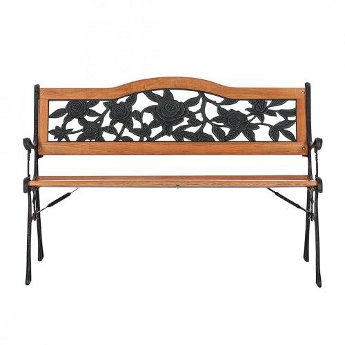 gartenbank bellevue bank holzbank 125cm gartenm bel balkonm bel terrassenm bel dekobank. Black Bedroom Furniture Sets. Home Design Ideas