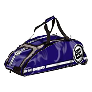 No Errors Dinger Wheeled Bat Bag (Purple)