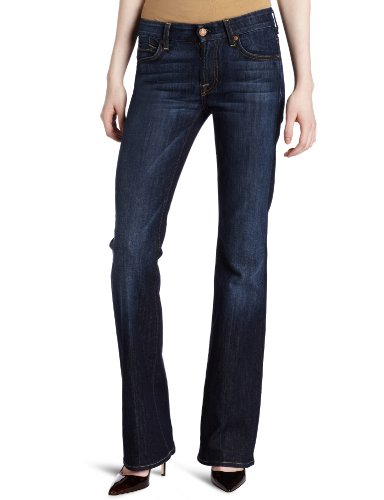 7 For All Mankind Women's Kimmie Classic Bootcut Jean, Midnight New York Dark, 28
