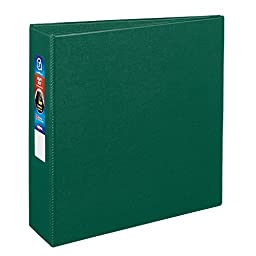 Avery Heavy-Duty Binder with 3-Inch One Touch EZD Ring, Green (79783)
