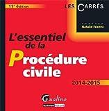 echange, troc Natalie Fricero - L'essentiel de la procédure civile 2014-2015