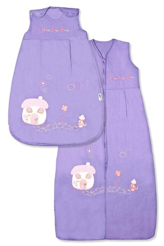Cotton Baby Sleeping Bag 2.5 Tog - Sweet Home - Various Sizes - 1