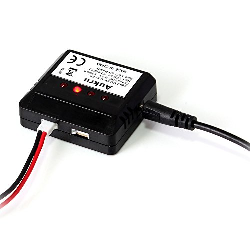 Aukru-4-IN-1-1-X4-Batterie-Ladegeraet-Ladebox-ladekabel-fr-Hubsan-X4-Quadrocopter-H107-WLtoys-UDI-JXD-Syma