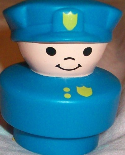 Buy Low Price Mattel Fisher Price Little People Vintage Police Man Replacement Figure Doll Toy (B0025JKBHQ)