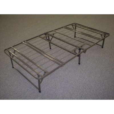 queen size bifold folding bed frame