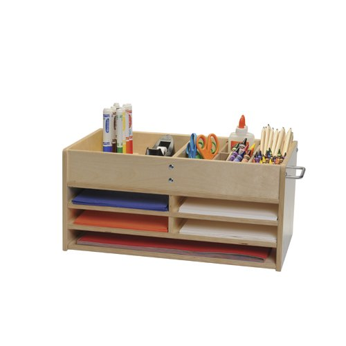 Wooden Classroom Storage Caddy (Writing Center Caddy compare prices)