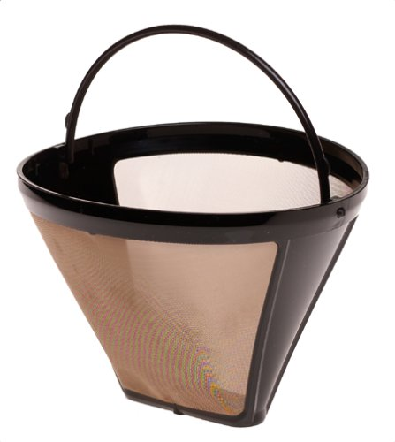 Capresso 750.09 Size-4 Cone Goldtone Filter back-485999