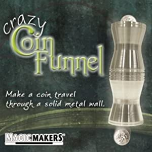 Crazy Coin Funnel - Make a Coin Travel Through a Solid Metal Wall!