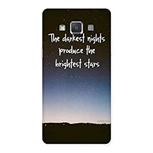 Impressive Brightest Star Multicolor Back Case Cover for Galaxy Grand Max