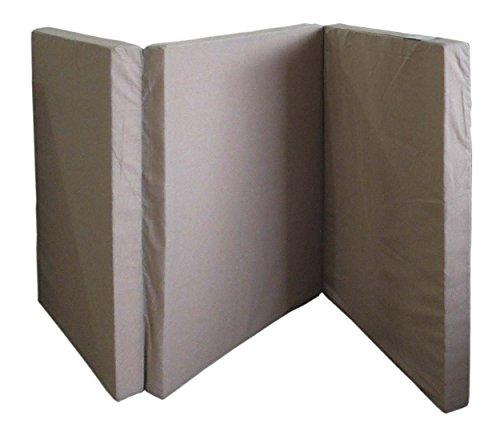 高密度 マットレス シングルサイズ 厚さ7cm 三つ折れ 2段ベッド スノコベッド にも最適 【限定数在庫限り】