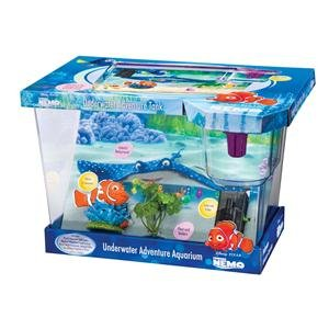Finding Nemo Small Starter Fish Tank With Internal Filter