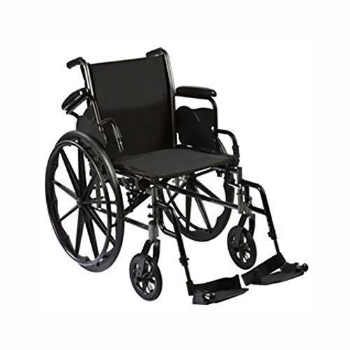 """Roscoe Medical Removable Flip Back, Desk-Length Arms And Elevating Legrests 18"""" Reliance Iii Wheelchair"""
