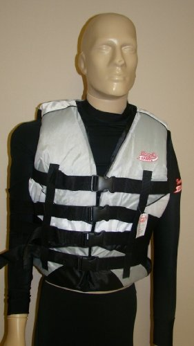 Cheap Unisex Life Jackets *** 4x Plus Size Gray/white (B0032P1ZBS)