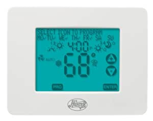 Hunter 44860 Universal 2H/2C Touchscreen Thermostat