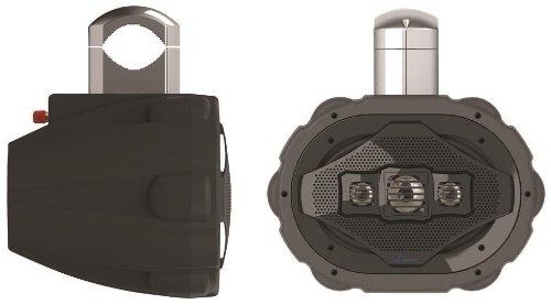 Lanzar Aqwb69B 600 Watts 6 X 9 Inches 4-Way Marine Wake Board Speaker (Black)